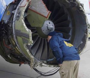 Southwest pidió más tiempo para inspección de turbinas