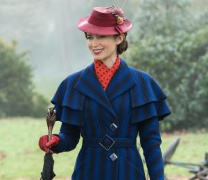 """Emily Blunt afirma que """"Mary Poppins"""" es una superheroína para los niños"""