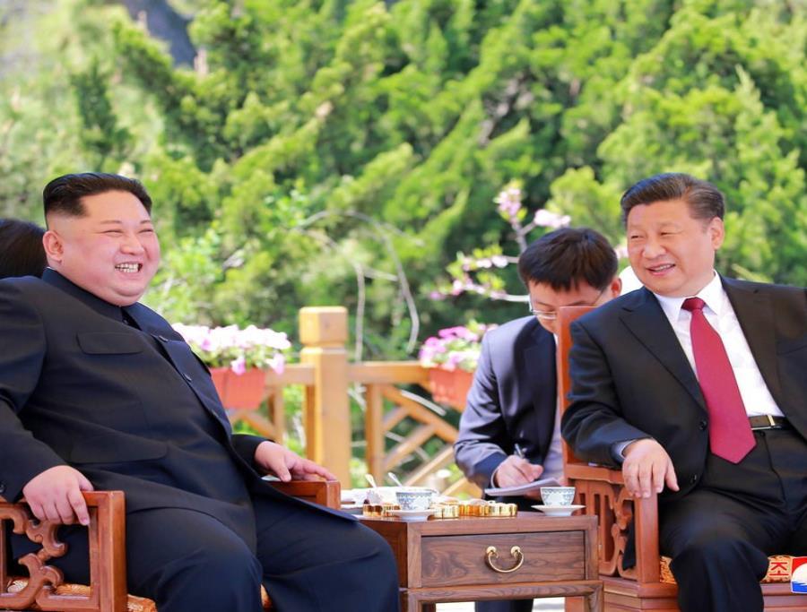 Kim Jong-un regresa a Corea del Norte luego de una misteriosa visita a China (semisquare-x3)