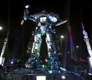 Dos robots gigantes, de Japón y EE.UU., pelearán al estilo Transformers