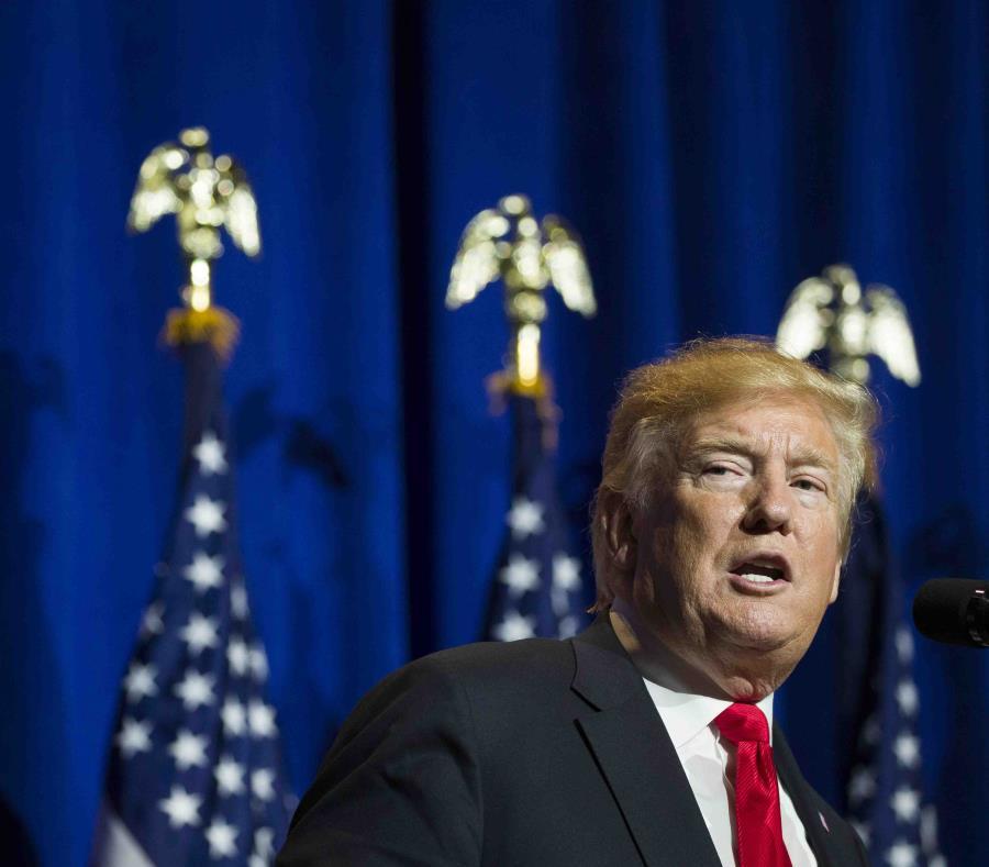 El presidente de Estados Unidos, Donald Trump. (AP) (semisquare-x3)
