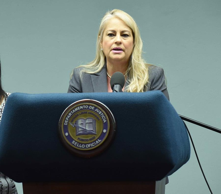 La secretaria de Justicia, Wanda Vázquez. (GFR Media) (semisquare-x3)