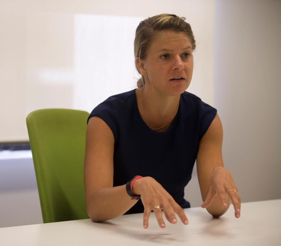 Allison Kern, socia fundadora de la firma Morro Venture Partners (semisquare-x3)
