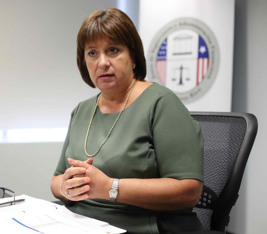 Natalie Jaresko, directora ejecutiva de la JSF (semisquare-x3)