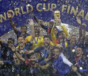 Los ganadores y perdedores en la Copa Mundial Rusia 2018
