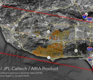 La NASA evalúa desde el espacio los daños causados por los incendios en California