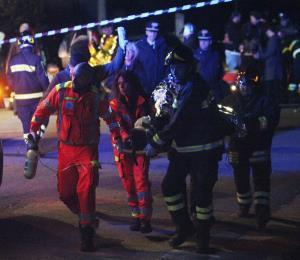 Policía de Italia halla gas pimienta en lugar de estampida