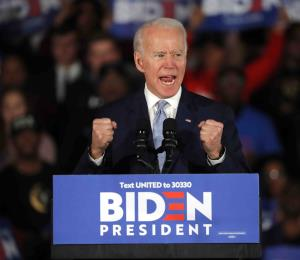 El brinco de Joe Biden