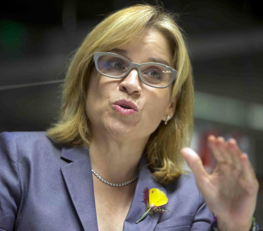 La alcaldesa de San Juan, Carmen Yulín Cruz (semisquare-x3)