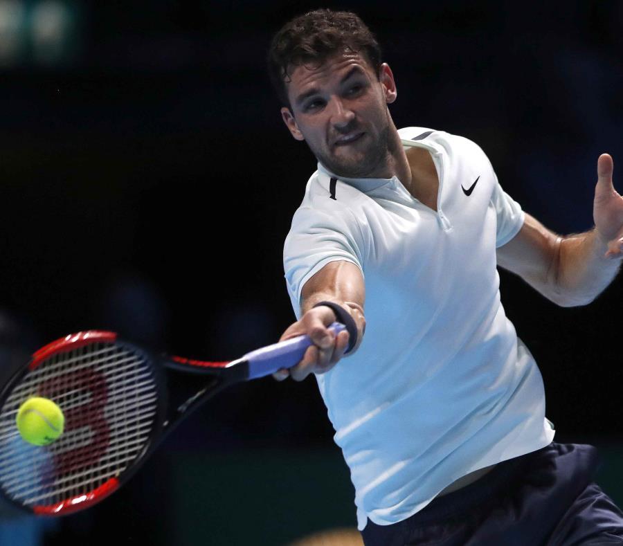 Dimitrov pasó a semifinales del Masters de Londres