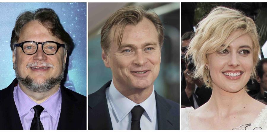 En esta combinación de fotos, algunos de los directores nominados al Oscar, de izquierda a derecha, Guillermo del Toro por