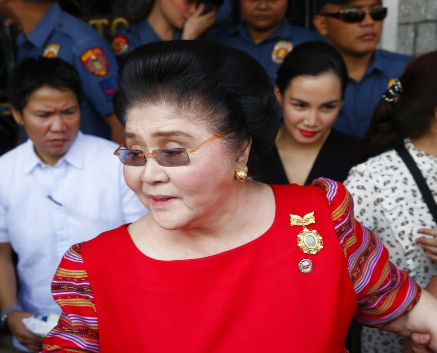 La exprimera dama de Filipinas y viuda del fallecido dictador Ferdinand Marcos (semisquare-x3)