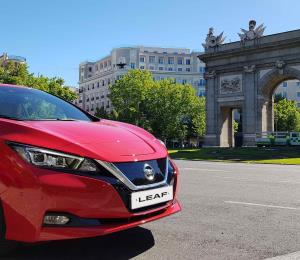 Nissan LEAF electrificó la final de la UEFA Champions League 2019