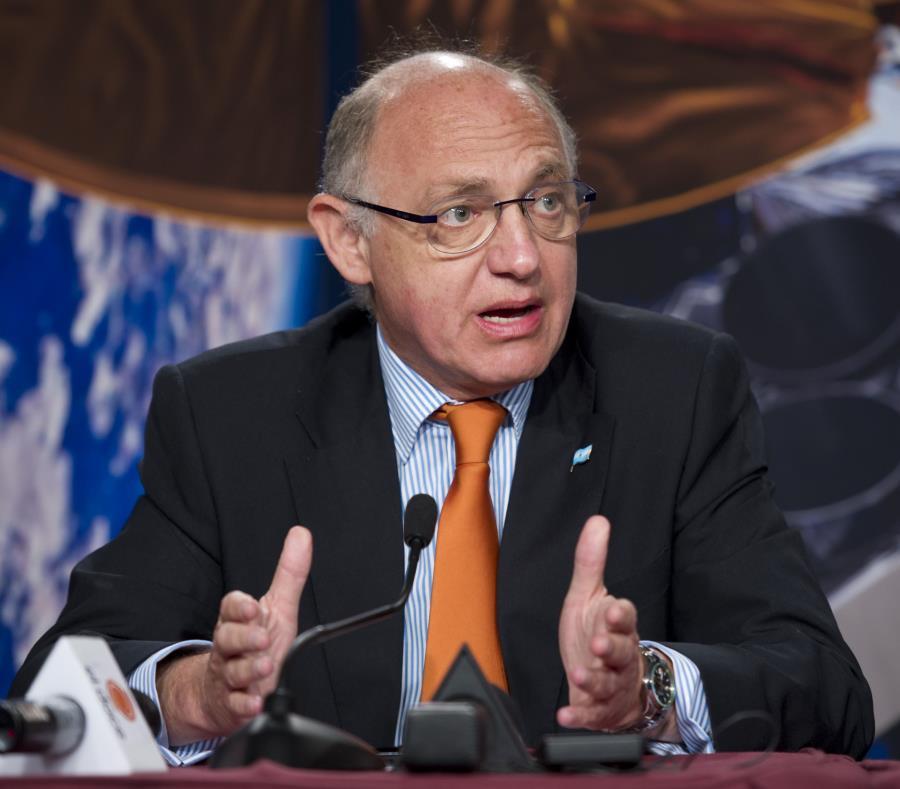 Héctor Timerman padecía cáncer desde hace años y su estado de salud se había agravado en los últimos meses. (AP / NASA / Bill Ingalls) (semisquare-x3)