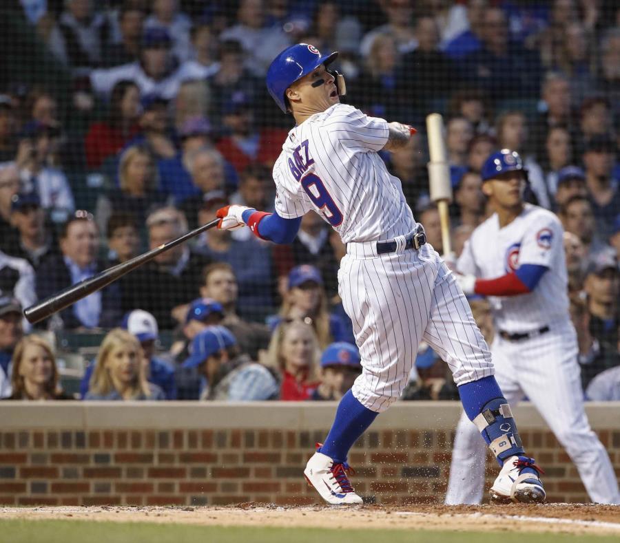 Javier Báez, quien iniciará el Juego de Estrellas en la segunda base, es uno de seis puertorriqueños que estarán en el clásico del martes, pero el único en el Home Run Derby del lunes. (semisquare-x3)
