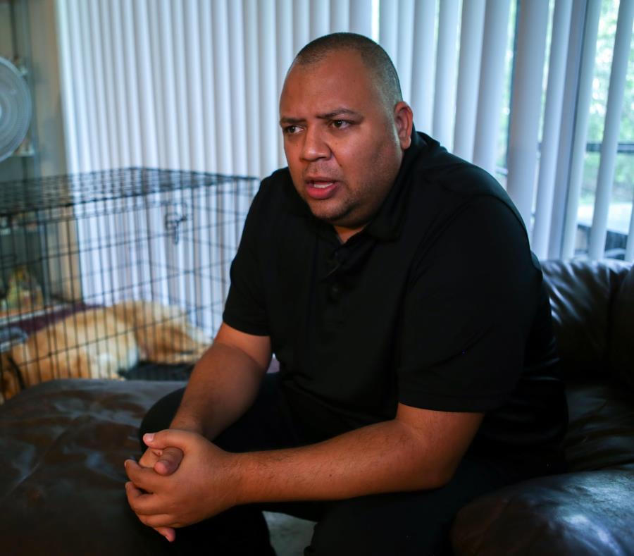 Omar Delgado, expolicía de Eatonville, fue uno de los primeros en llegar a la discoteca Pulse, en Orlando, tras la masacre que se escenificó allí en junio del 2016. (semisquare-x3)