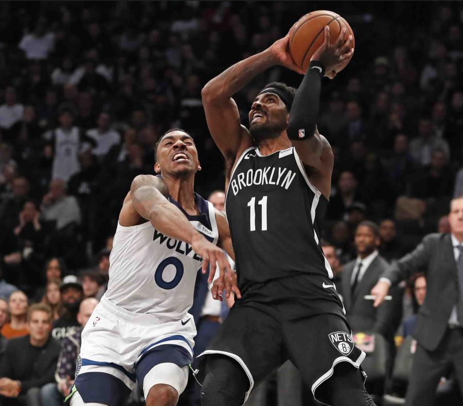 Irving anota 50 en derrota de los Nets ante los Wolves
