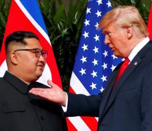 Posible declaración de paz en la cumbre entre Kim Jong-un y Donald Trump