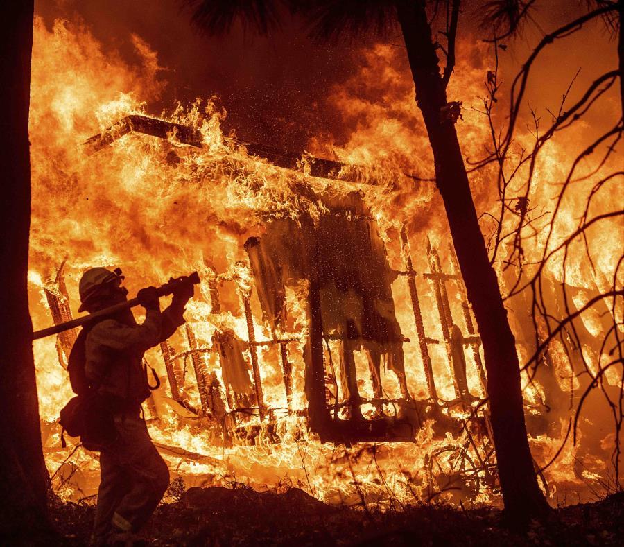 Ya son al menos 42 los muertos por incendios forestales en California