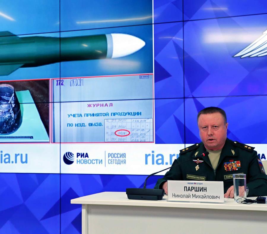 Rusia asegura que Ucrania derribó el avión malasio en 2014 (semisquare-x3)