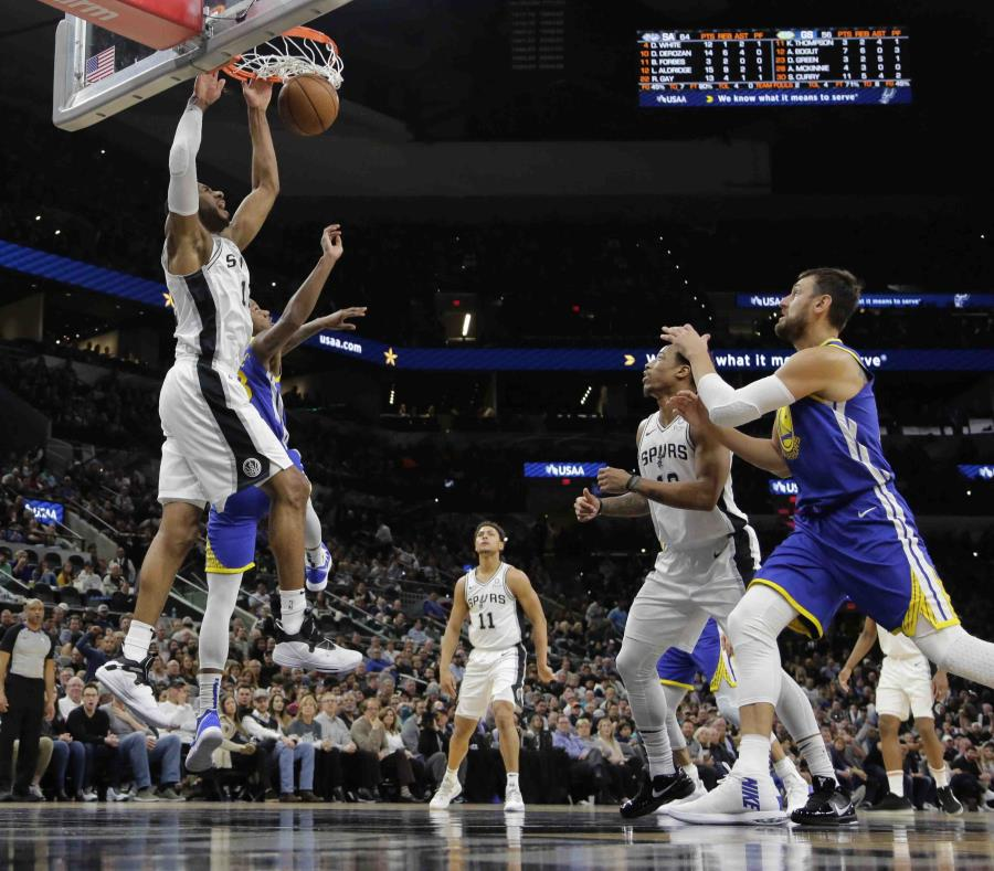 Los Spurs suman nueve victorias consecutivas