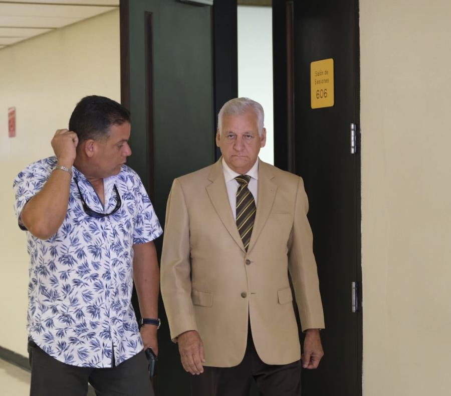 El miércoles, se celebró una vista de estado de los procedimientos en la sala 606 del Tribunal de Bayamón. (semisquare-x3)