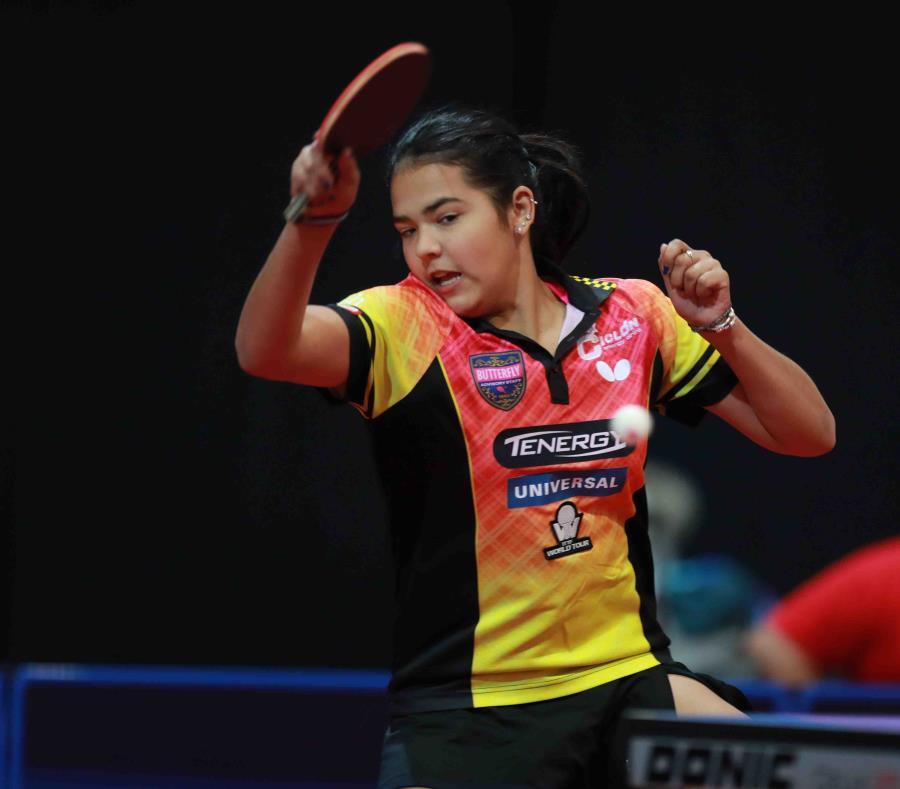 La utuadeña Adriana Díaz venció en su partido de sencillos a Pooja Sahasrabudhe. (semisquare-x3)