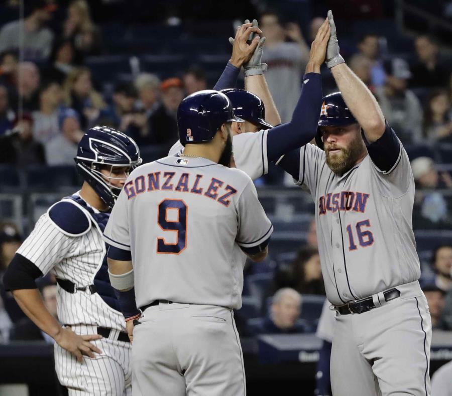 Los Astros de Houston obtienen su quinto triunfo seguido (semisquare-x3)