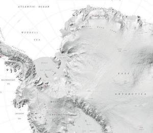 Dan a conocer el mapa de la Antártida más preciso de la historia