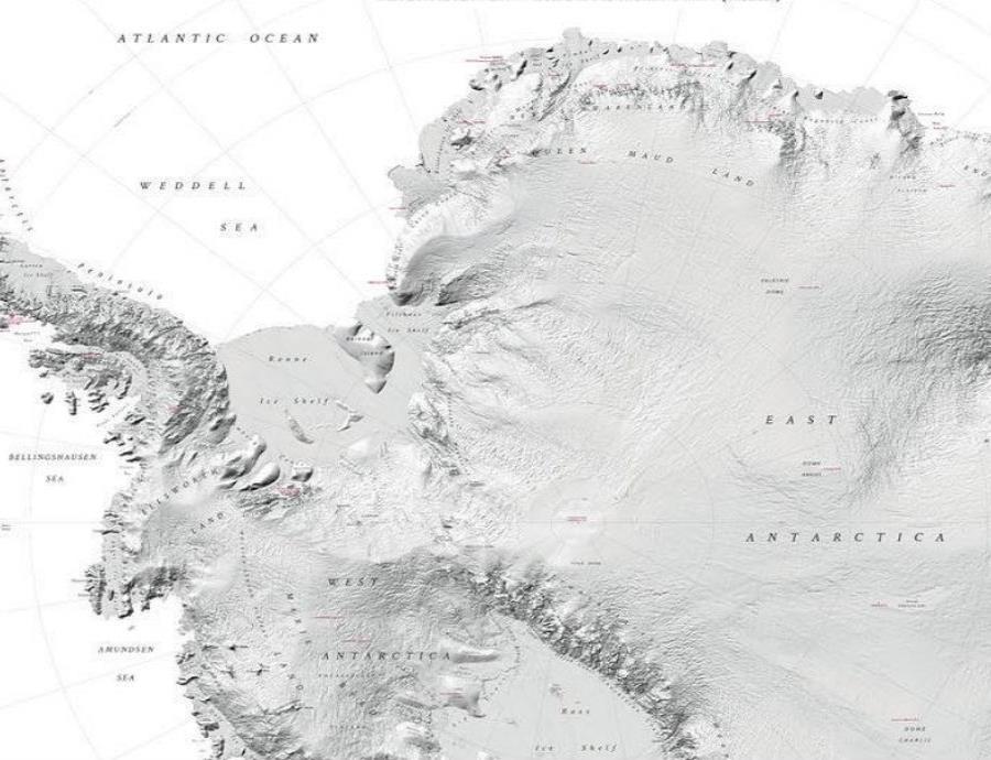Dan a conocer el mapa de la Antártida más preciso de la historia (semisquare-x3)
