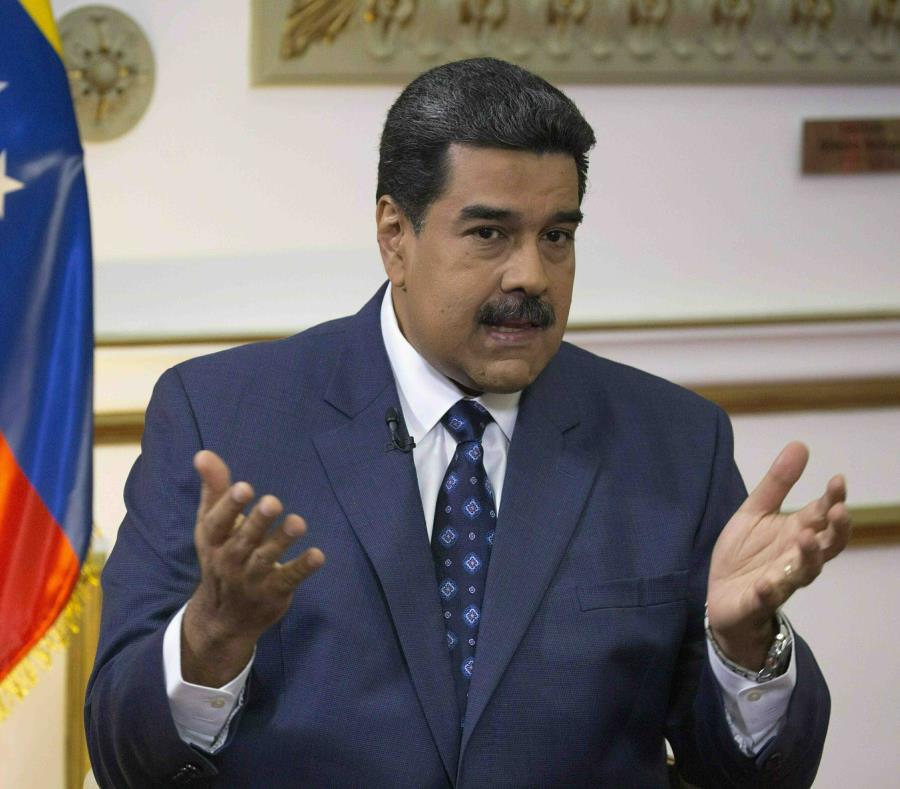 Maduro ha asegurado su permanencia en el poder hasta el 2024 luego de que el año pasado ganara la reelección. (AP/Ariana Cubillos) (semisquare-x3)