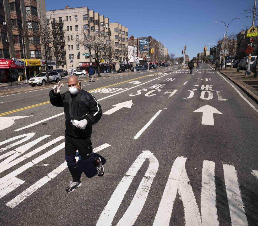 Nueva York ya tiene 52.318 positivos de coronavirus