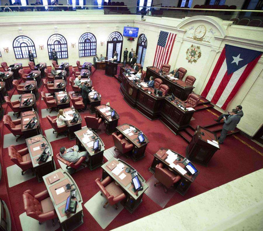 En la foto el hemiciclo del Senado (semisquare-x3)