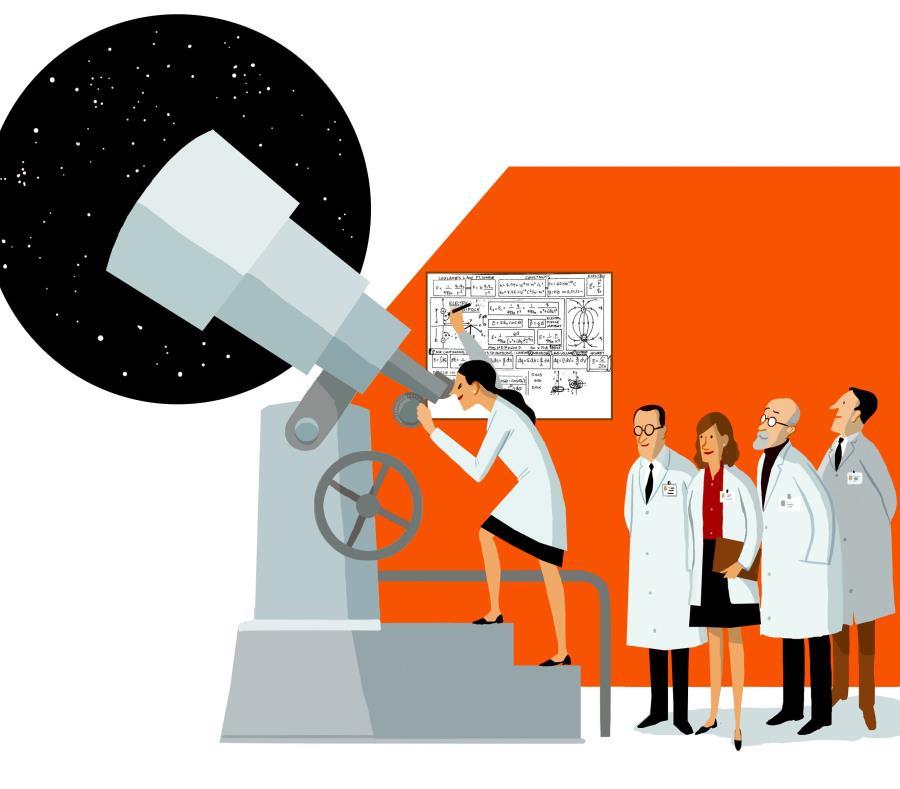 La baja participación de mujeres en ciencia, tecnología e innovación puede incluso dificultar el cumplimiento de la Agenda 2030 para el Desarrollo Sostenible. (El Mercurio / Francisco Javier Olea) (semisquare-x3)
