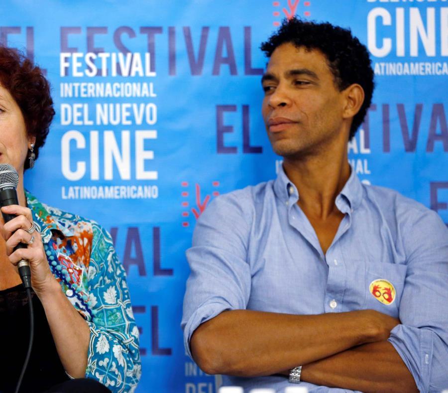 Acosta durante su participación en el Festival Internacional del Nuevo Cine Latinoamericano de La Habana. (Agencia EFE) (semisquare-x3)