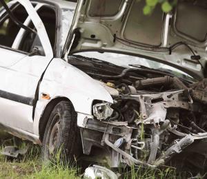 La tragedia de un accidente automovilístico