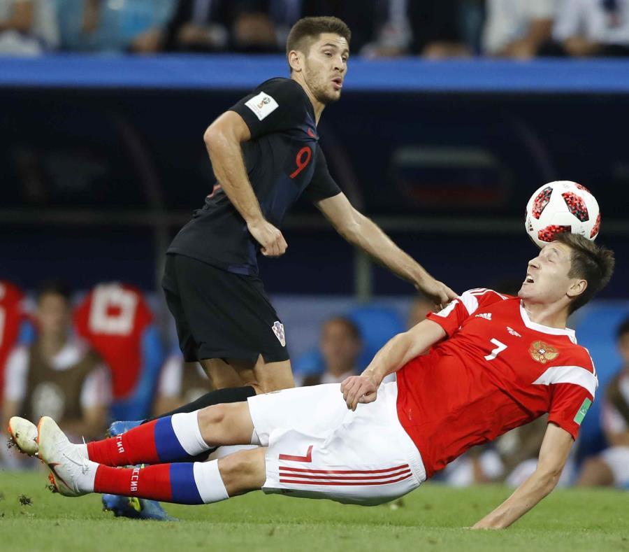 Andrej Kramaric, el 9 que se destapó recién en cuartos de final