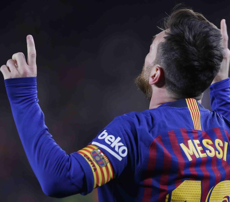 Messi facturó su doblete número 115 en la Liga. (semisquare-x3)