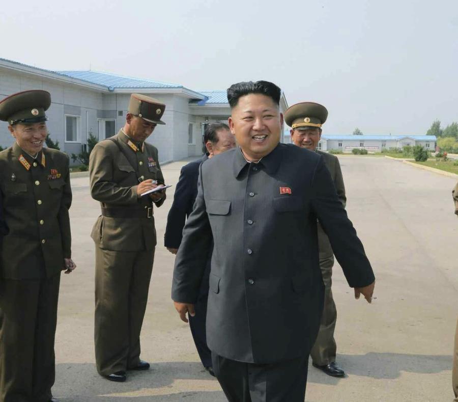 El líder norcoreano Kim Jong-un. (EFE/YonhapNews) (semisquare-x3)