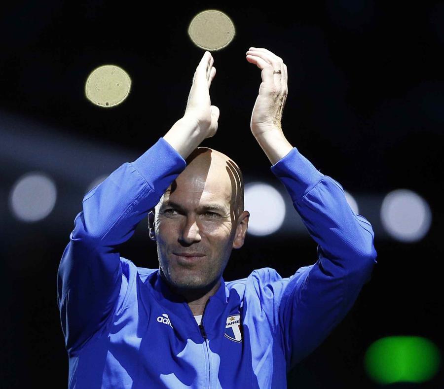 Zidane estaría al frente del Madrid hasta el 2022. (AP) (semisquare-x3)