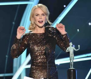 """Nicole Kidman sigue cosechando premios con """"Big Little Lies"""""""