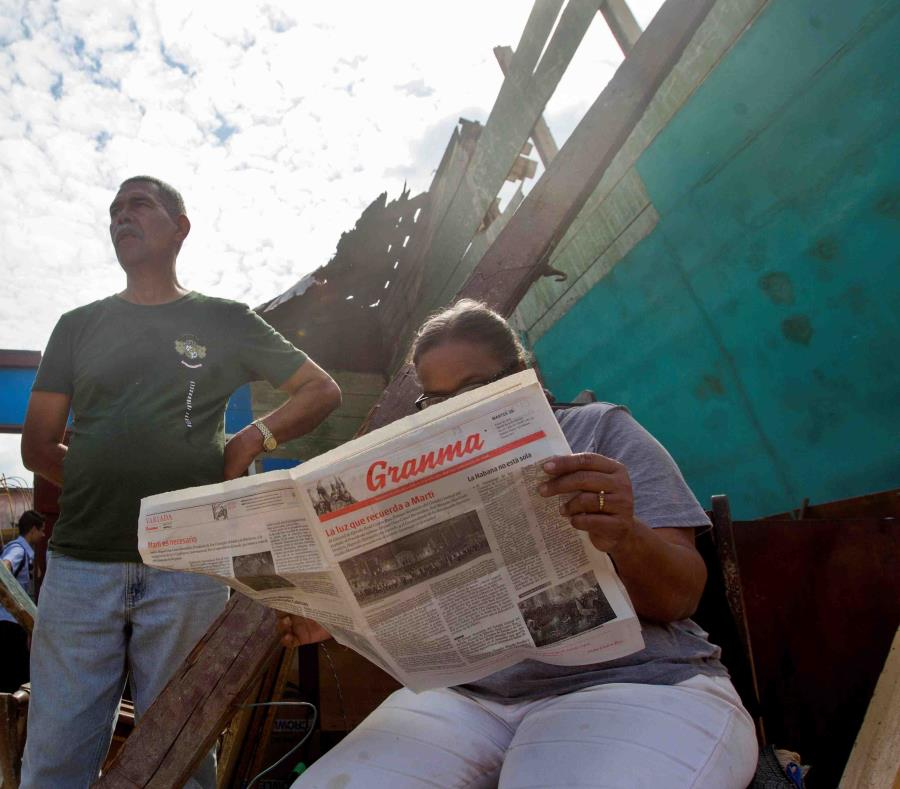El diario Granma es el órgano oficial del Partido Comunista de Cuba. (EFE) (semisquare-x3)