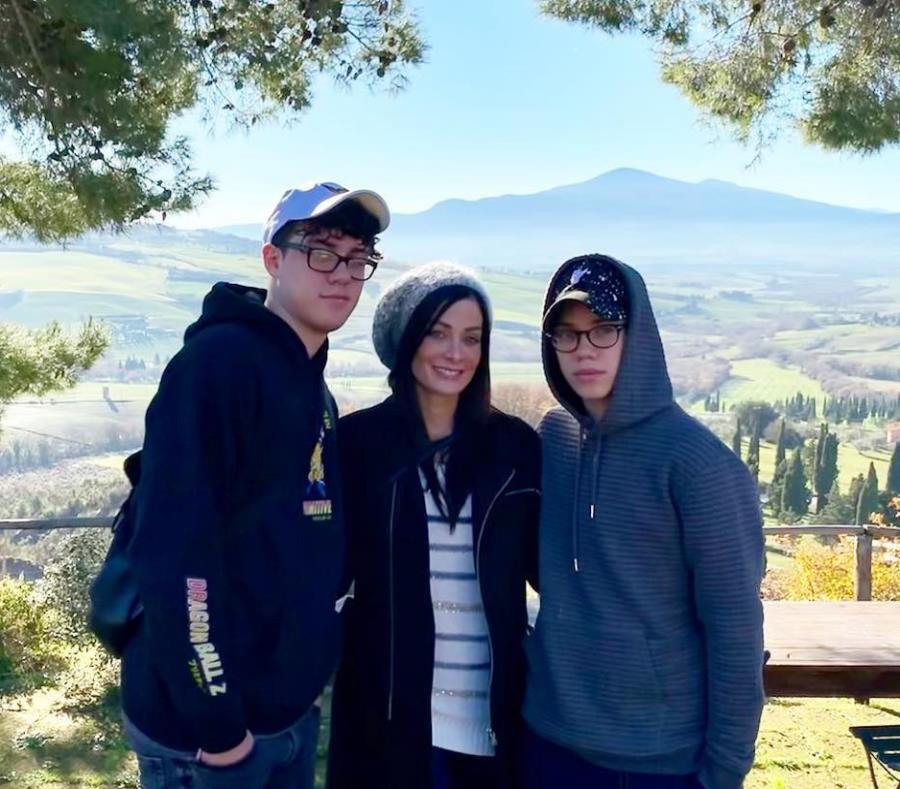 Dayanara Torres y sus hijos, Cristian y Ryan, durante un viaje de vacaciones. (Instagram / Dayanarapr) (semisquare-x3)