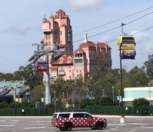 Desiertas las zonas turísticas de Orlando