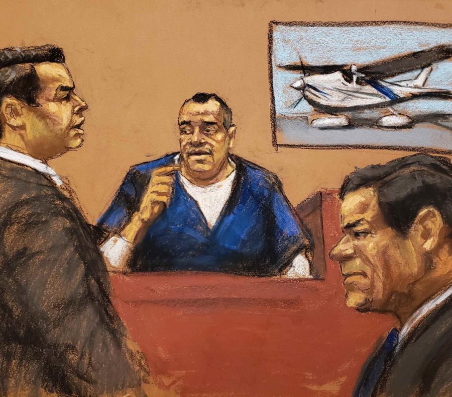 De ser declarado culpable, El Chapo podría ser sentenciado a cadena perpetua. (EFE) (semisquare-x3)