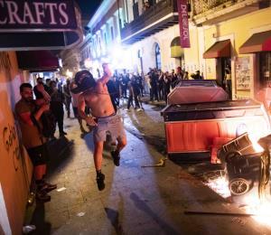 """""""El Viejo San Juan parecía un campo de batalla"""""""