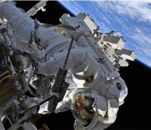 La astronauta Christina Koch podría romper un récord en la Estación Espacial
