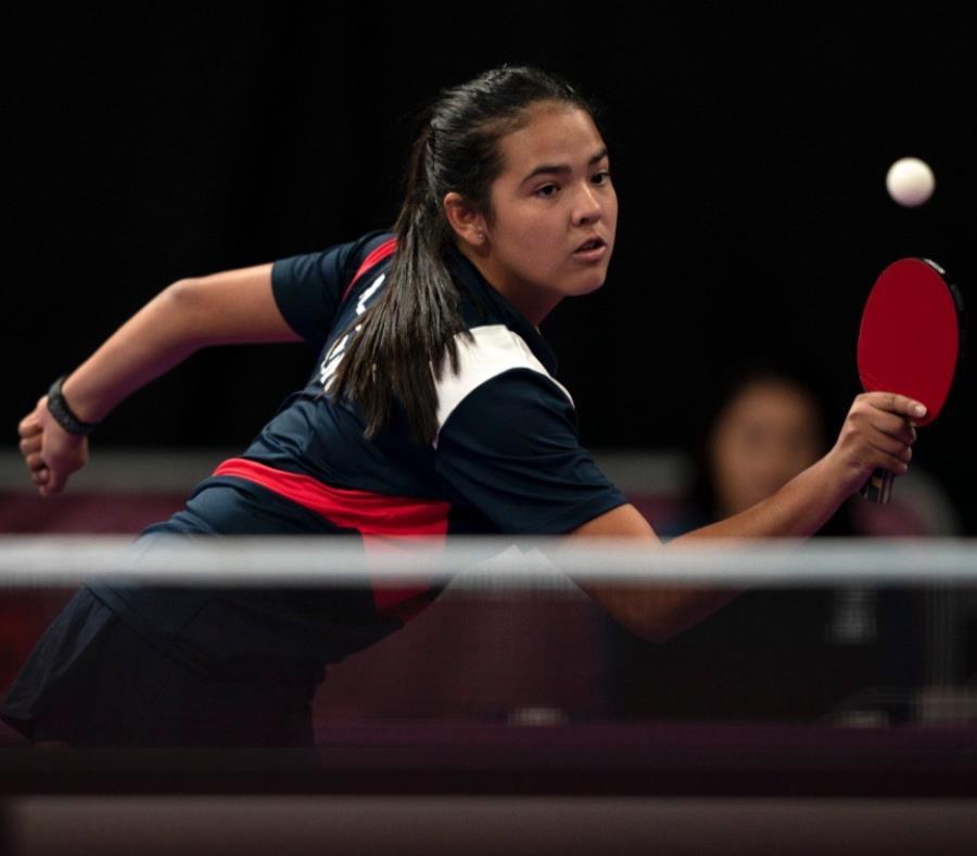 Adriana Díaz, tenismesista puertorriqueña. (semisquare-x3)