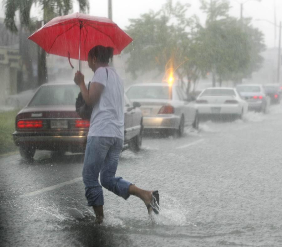 Las lluvias se extenderán hasta mañana cuando llegue una masa de aire más seca que limitará la precipitación de lluvia en la isla. (semisquare-x3)