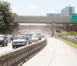 Registran dos accidentes separados en ambas vías del expreso 52